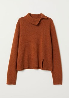 H&M H & M - Cashmere-blend Sweater - Orange