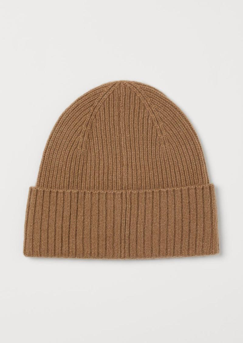 H&M H & M - Cashmere Hat - Beige