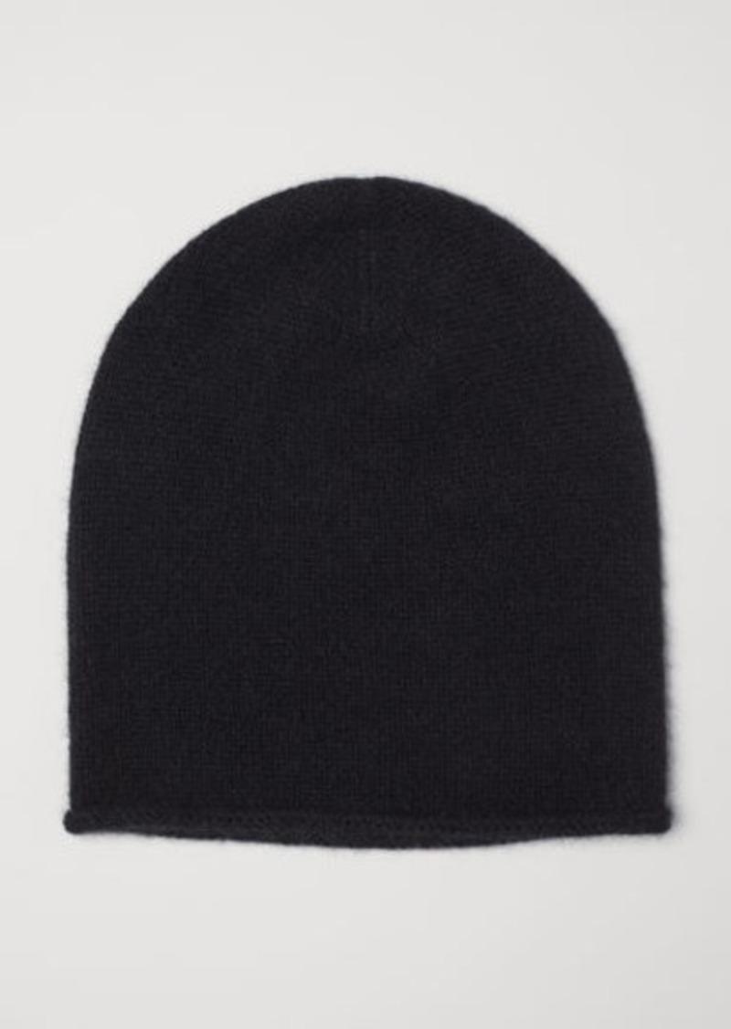 3fa14bb97 H & M - Cashmere hat - Black