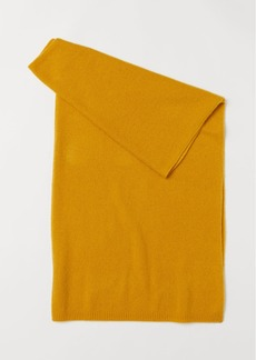 H&M H & M - Cashmere Scarf - Yellow