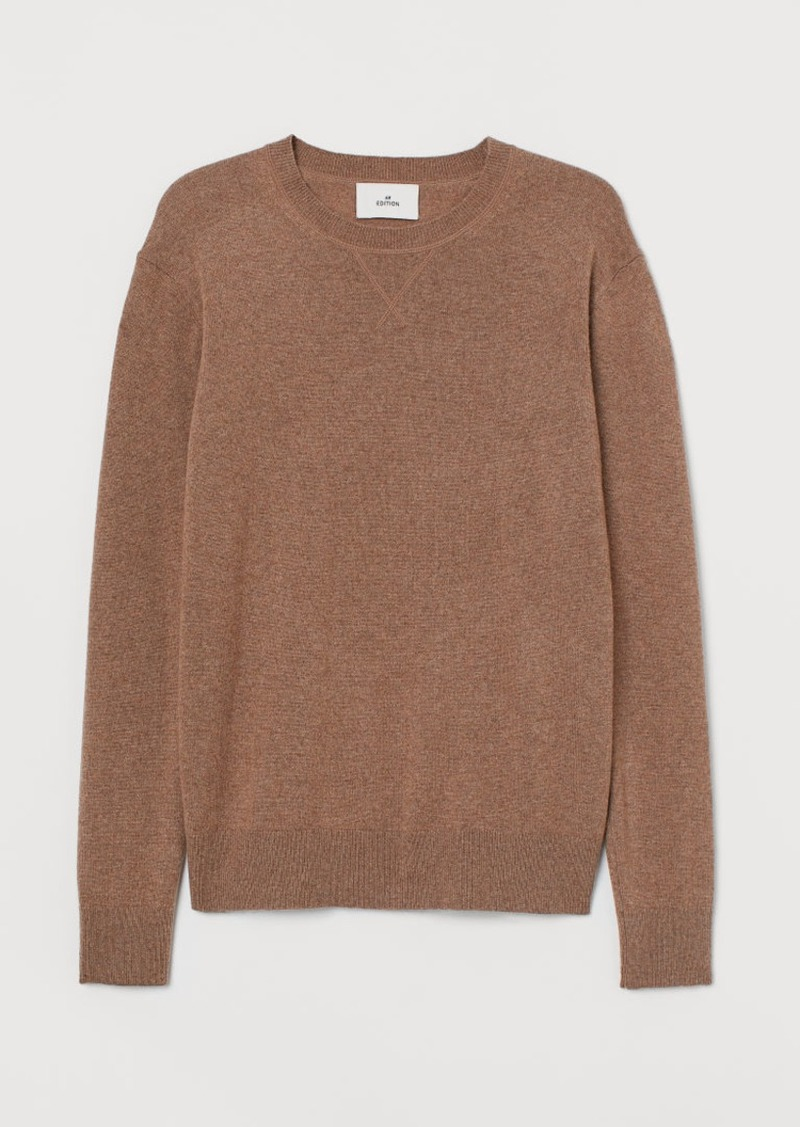 H&M H & M - Cashmere Sweater - Beige