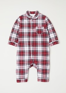 H&M H & M - Checked Jumpsuit - Red