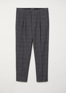 H&M H & M - Checked Suit Pants - Gray