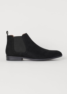 H&M H & M - Chelsea-style Boots - Black