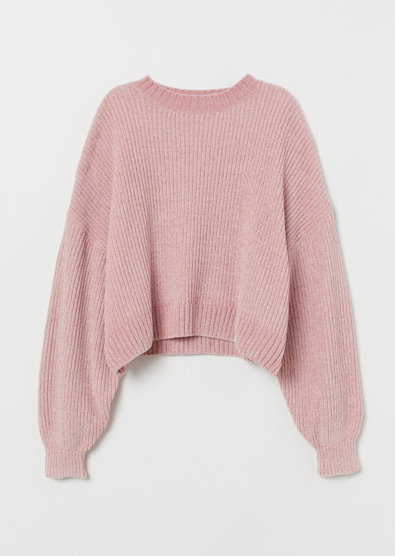 H&M H & M - Chenille Sweater - Pink