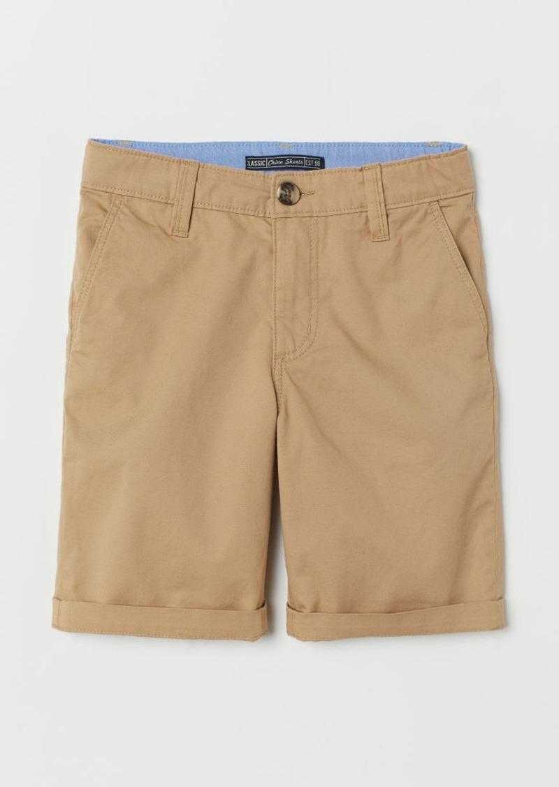 H&M H & M - Chino Shorts - Beige