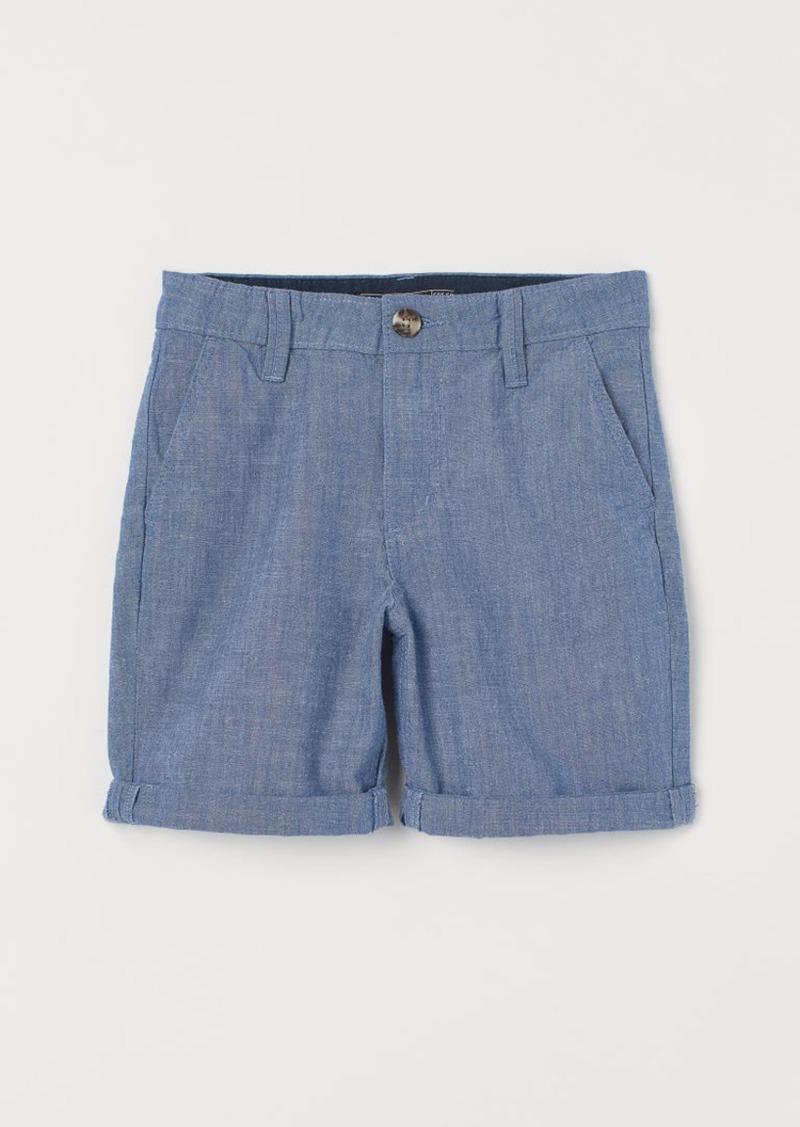 H&M H & M - Chino Shorts - Blue