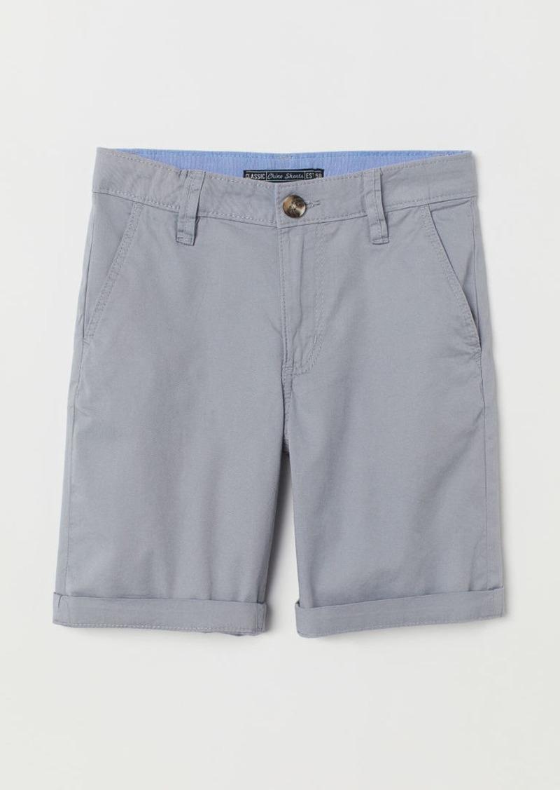 H&M H & M - Chino Shorts - Gray