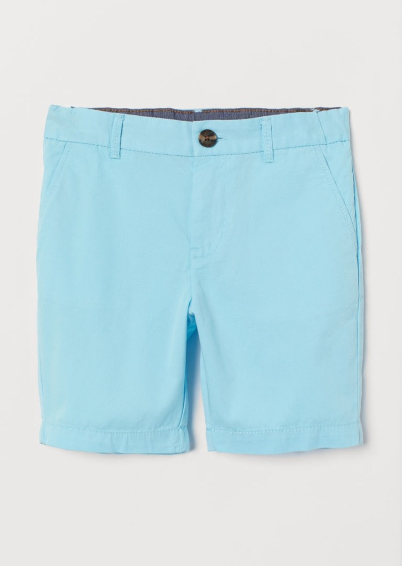 H&M H & M - Chino Shorts - Turquoise