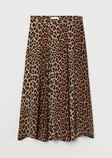 H&M H & M - Circle Skirt - Beige