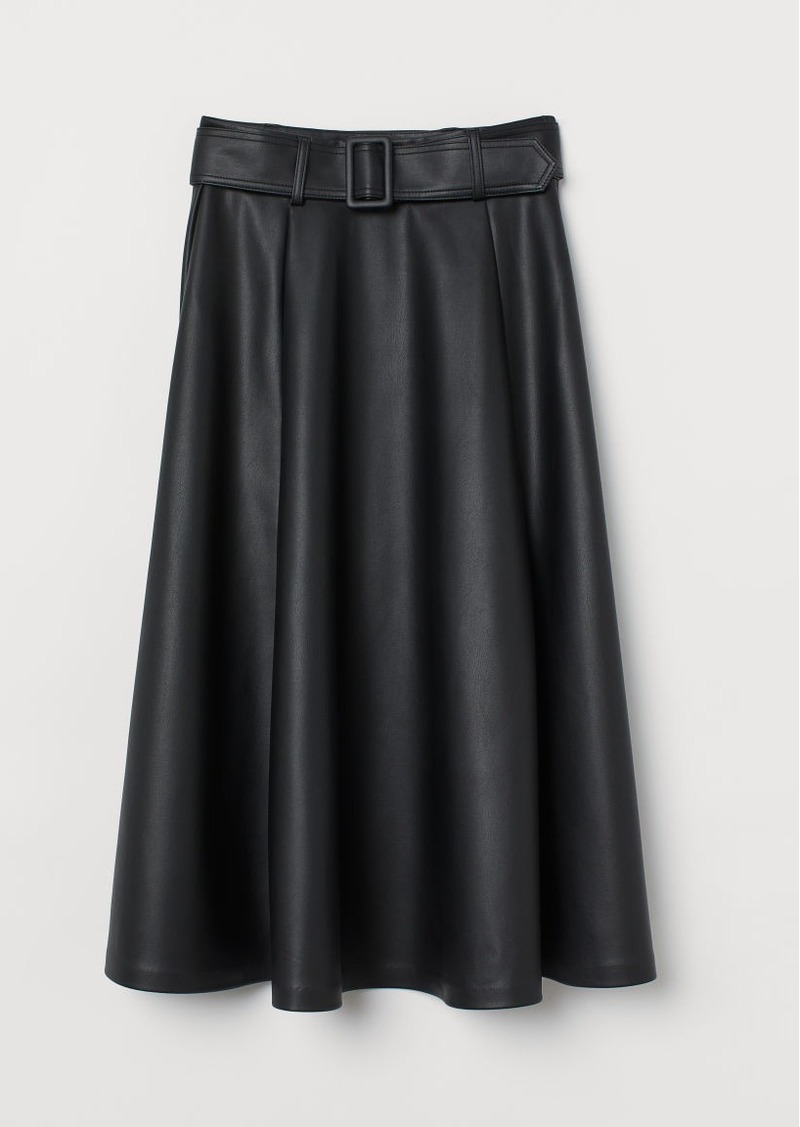 H&M H & M - Circle Skirt - Black