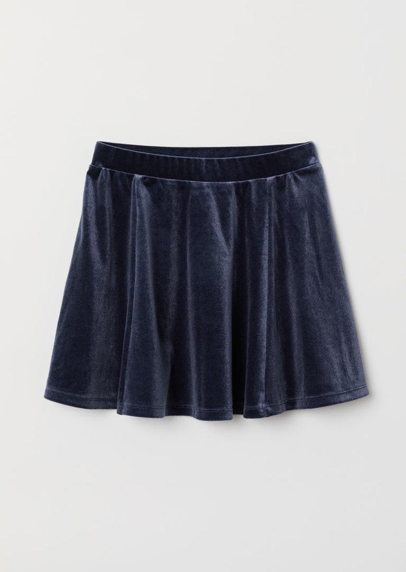 H&M H & M - Circle Skirt - Blue