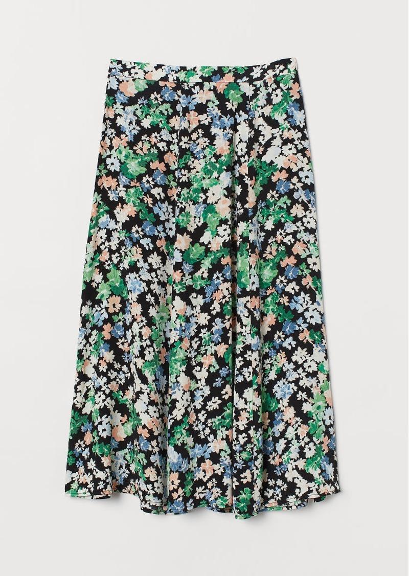 H&M H & M - Circle Skirt - Orange
