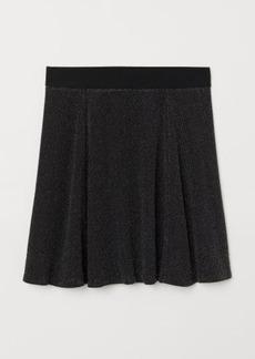 H&M H & M - Skater Skirt - Silver