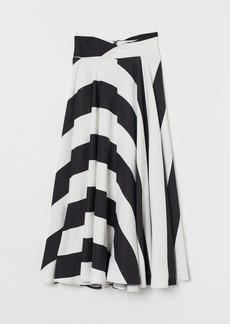 H&M H & M - Circle Skirt - White