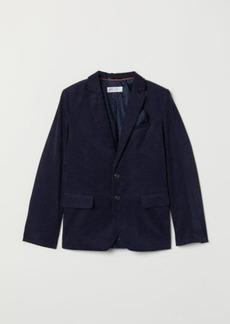 H&M H & M - Corduroy Blazer - Blue