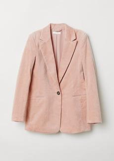 H&M H & M - Corduroy Blazer - Orange