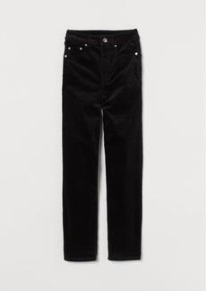 H&M H & M - Corduroy Pants - Black