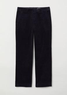 H&M H & M - Corduroy Pants - Blue