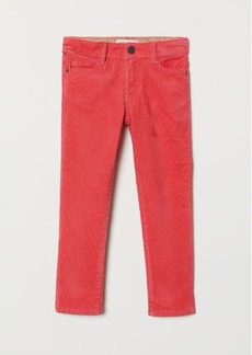 H&M H & M - Corduroy Pants - Red