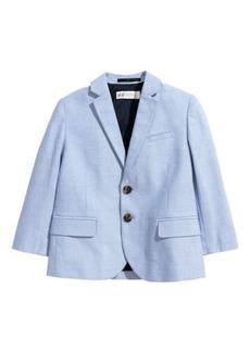 H&M H & M - Cotton Blazer - Blue