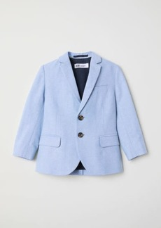 H&M H & M - Cotton Blazer - Blue