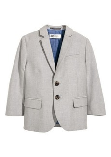 H&M H & M - Cotton Blazer - Gray