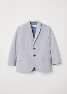 H&M H & M - Cotton Blazer - Gray