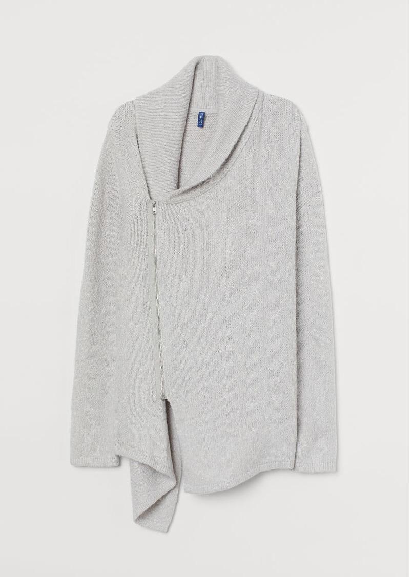 H&M H & M - Cotton-blend Cardigan - Gray