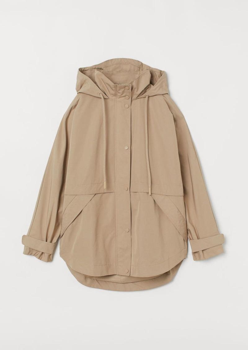 H&M H & M - Cotton-blend Parka - Beige