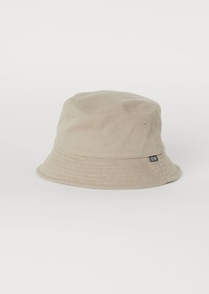 H&M H & M - Cotton Bucket Hat - Beige