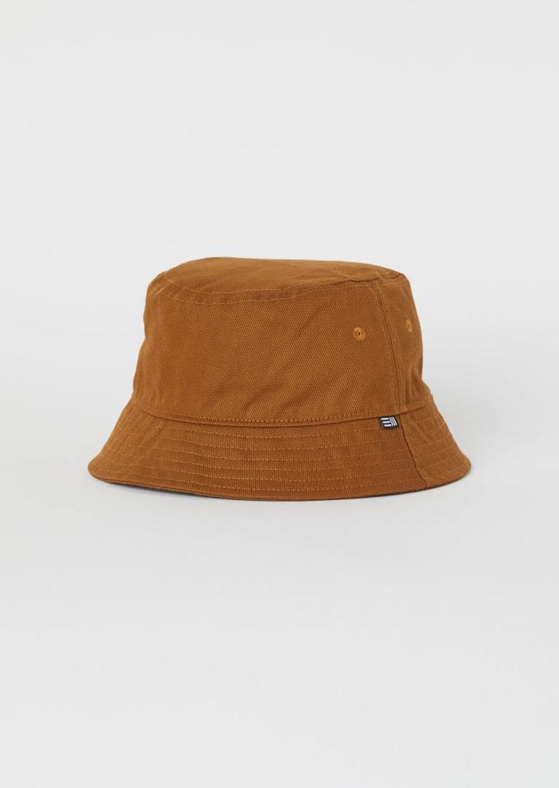 H&M H & M - Cotton Bucket Hat - Beige