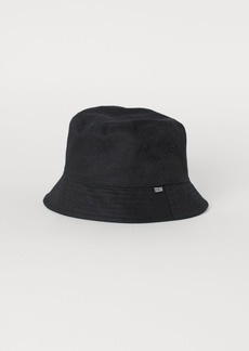H&M H & M - Cotton Bucket Hat - Black