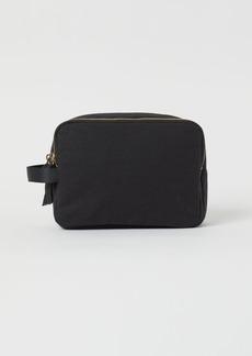H&M H & M - Cotton Canvas Makeup Bag - Black