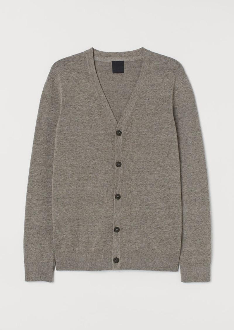 H&M H & M - Cotton Cardigan - Brown