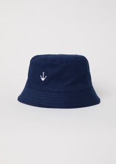 H&M H & M - Cotton Sun Hat - Blue