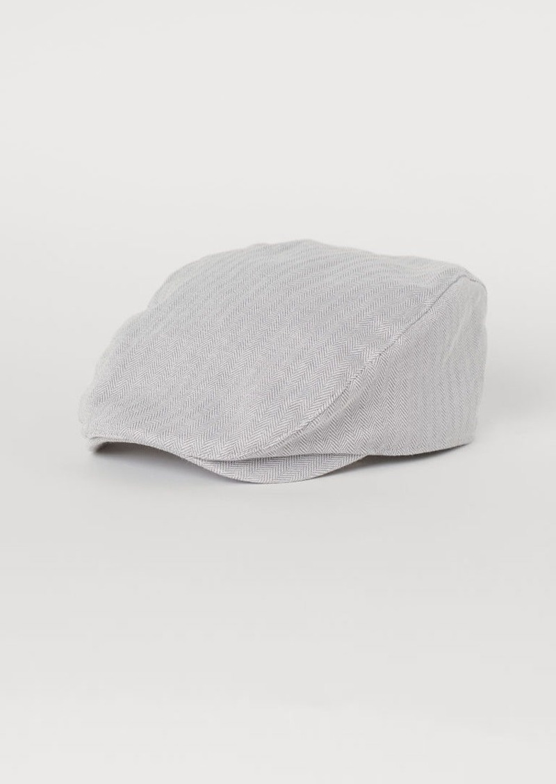 H&M H & M - Cotton Flat Cap - Gray