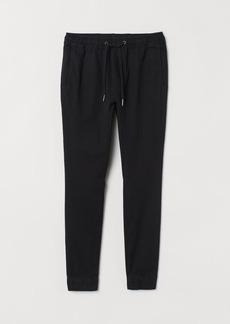 H&M H & M - Cotton Joggers - Black
