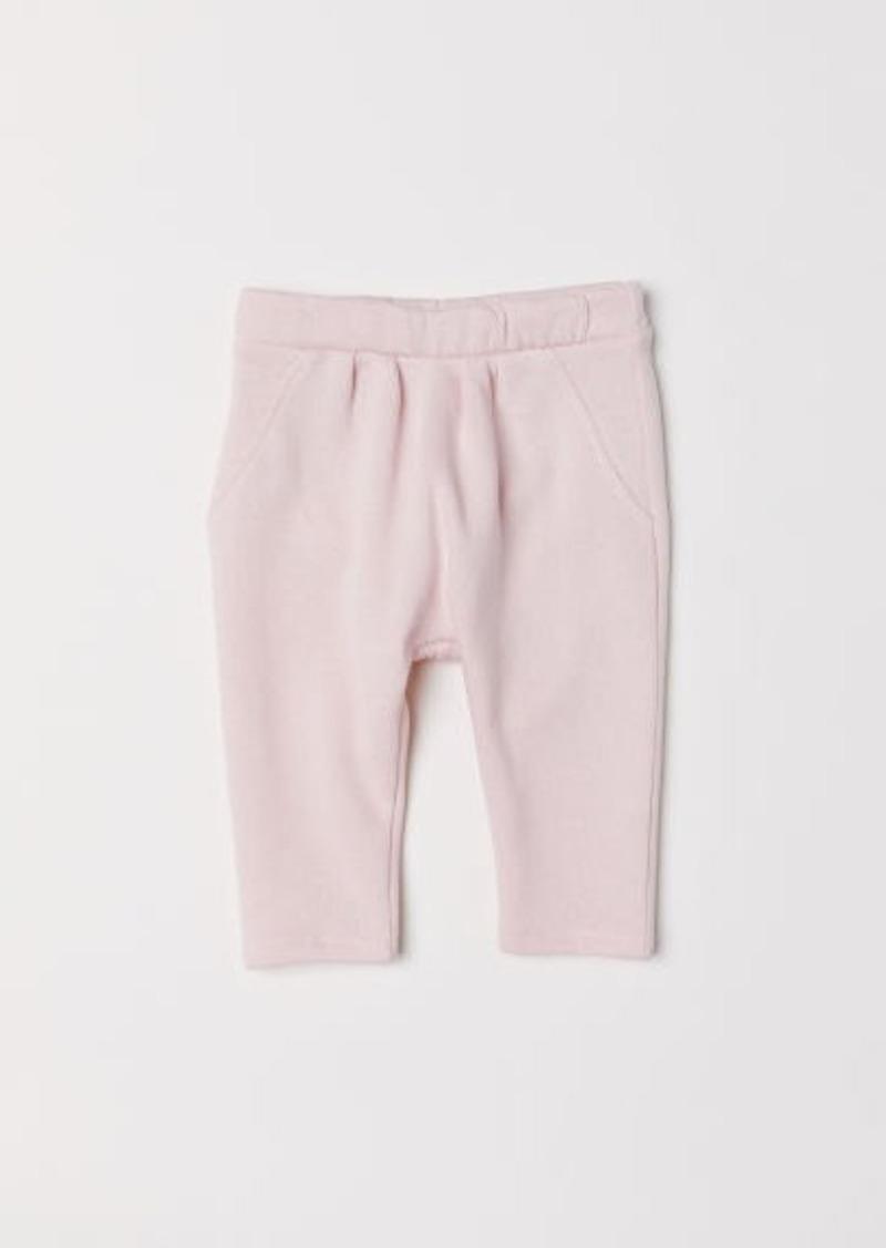H&M H & M - Cotton Joggers - Pink
