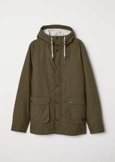 H&M H & M - Cotton Parka - Green