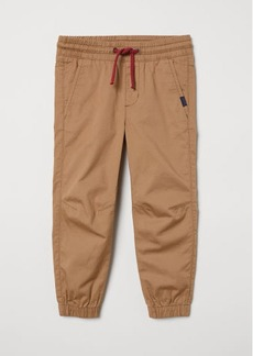 H&M H & M - Cotton Pull-on Pants - Beige