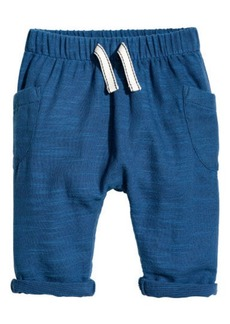 H&M H & M - Cotton Pull-on Pants - Blue