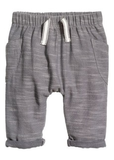 H&M H & M - Cotton Pull-on Pants - Gray