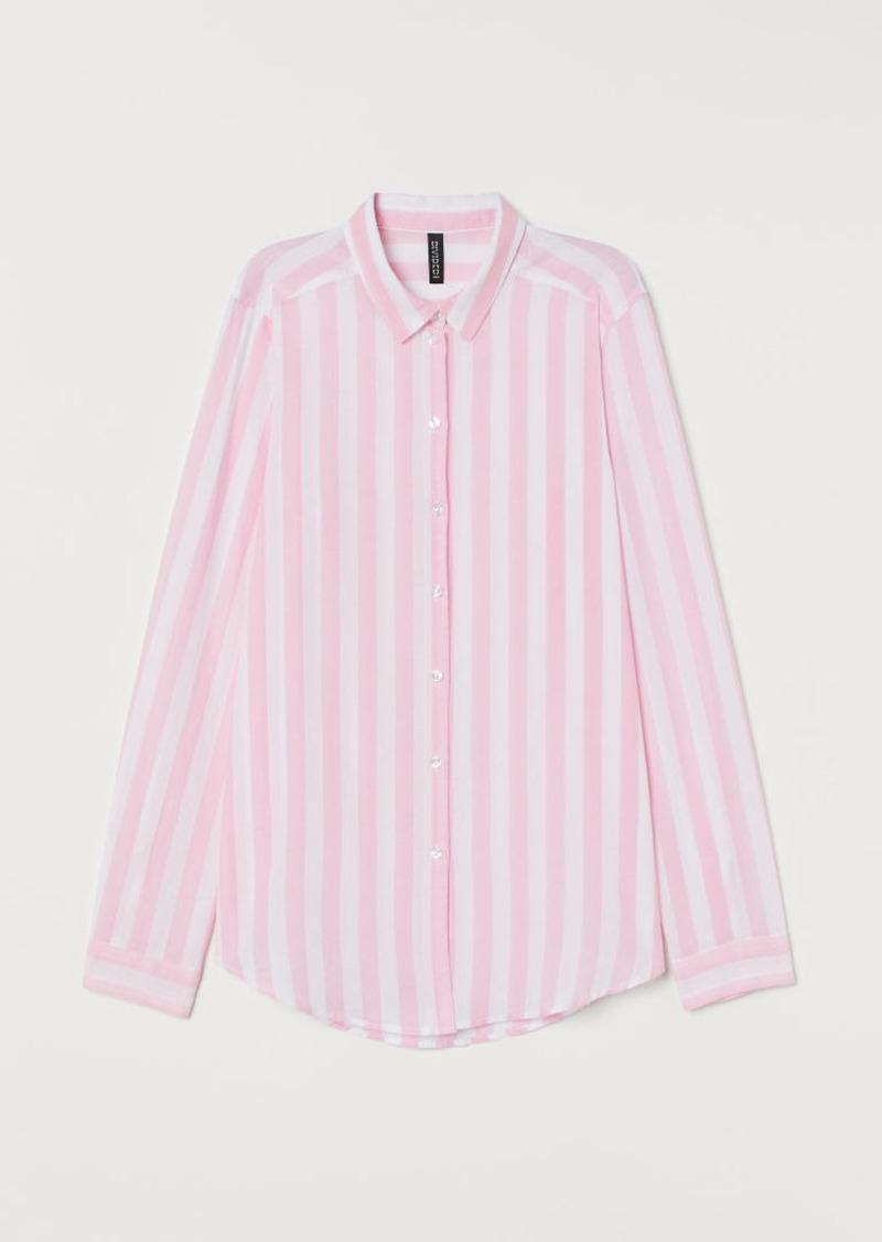 H&M H & M - Cotton Shirt - Pink
