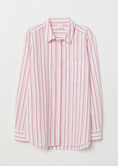 H&M H & M - Cotton Shirt - Red
