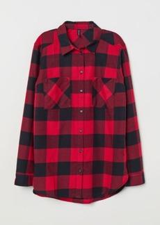 H&M H & M - Cotton Shirt - Red