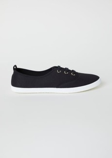 H&M H & M - Cotton Shoes - Black