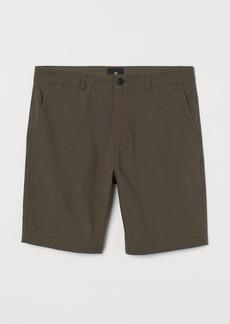 H&M H & M - Cotton Shorts - Green