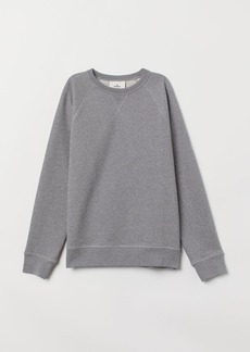 H&M H & M - Cotton Sweatshirt - Gray