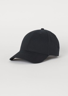 H&M H & M - Cotton Twill Cap - Black